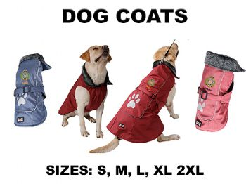 Embroidered Dog Coat